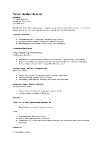 sample-budget-analyst-resume
