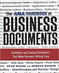 The Best of Business Documents Need These-Things to Know""